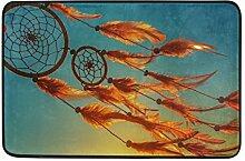 Naanle Traumfänger Sunset Eingang Decor-Fußmatte
