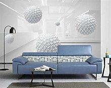 Nach tapeten abstrakte drei-dimensionale raum ball
