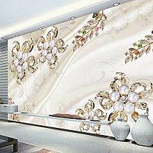 Nach Wandbild Tapete 3D Stereo Silk Diamant