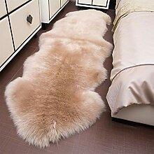 Nachahmung Schaffell Teppiche Sofa Boden Teppich