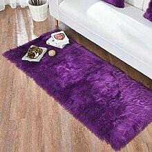Nachahmung Wolle Wohnzimmer Teppich Plüsch