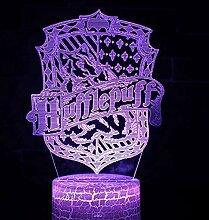 Nachtlampe Led Nachttischlampe 3D
