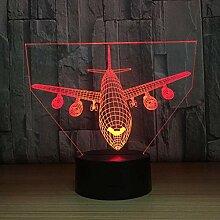 Nachtlicht 3D Licht Luft Flugzeug Modell