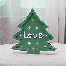 Nachtlicht führte dekorative Lichter Weihnachtsbaum-Nachtlichter