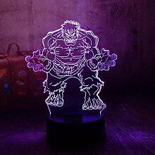 Nachtlicht Illusion Lampe Marvel The Avengers