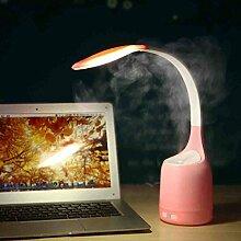 Nachtlicht Kreative Lampe Lade Usb Luftbefeuchter 3 9 * 3 9 * 22in,Pink