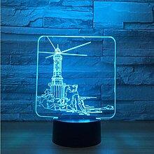 Nachtlicht LED Leuchtturm Design 3D Led Nachtlicht