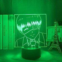 Nachtlicht mit 3D-Illusion, Kinder Touchscreen