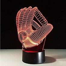 Nachtlicht Touch Farbwechsel 3D Led Nachtlicht