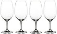 Nachtmann Glas ViVino Bodeaux Gläser, Kristallglas