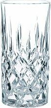 Nachtmann Longdrinkglas Noblesse, (Set, 4 tlg.),