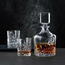 Nachtmann Sculpture Whisky-Set Glas 3-tlg. 2x