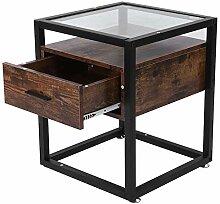 Nachtschrank Vintage Nachttisch Beistelltisch