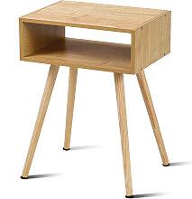 Nachttisch 40 x 30 x 54.5 cm Natur Design