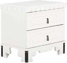 Nachttisch Byzanz Massivum Farbe: Weiß
