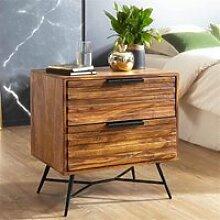 Nachttisch mit Schubladen B/H/T ca. 60/60/40cm