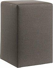 Nachttisch MONDO 1300 Beistelltisch Betttisch Nachtkommode für ihr Schlafzimmer in 30 Stoffe oder T-Leder verschiedenen Farben, Stoff - Leder Auswahl:Fein Super Gelb 3271