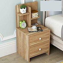 nachttische Nachttisch Schrank Schrank montiert Lagerschrank Schlafzimmer Schlafsaal Montage Nachtschränkchen ( Farbe : I )
