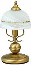 Nachttischlampe bronzefarben 32 cm Flossi