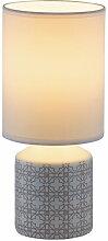 Nachttischlampe Keramik Weiß E14 Sophie