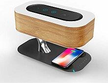 Nachttischlampe Mit Bluetooth-Lautsprecher Und
