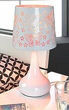 Nachttischlampe Tischleuchte Tischlampe   Metall  