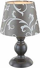 Nachttischleuchte mit Stoffschirm Lampenschirm