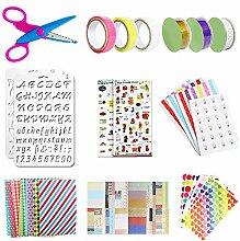 NACTECH Scrapbook Zubehör Sticker Fotoalbum