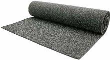 Nadelfilz Teppich-Boden Meterware MERLIN - Grau,