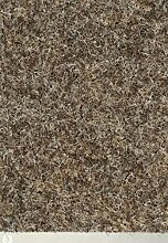 Nadelfilz-Teppich in der Farbe beige-braun | Nadelvlies-Auslegeware in der Breite 2m x Länge 9,0m | Filz-Bodenbelag als Meterware erhältlich | robust & rutschfest, Beanspruchungsklasse (BK33)