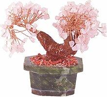 Naeve Leuchten Bonsai-Rosenquarz mit 150