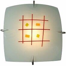 Naeve Leuchten Glasdeckenleuchte/s: 30 cm, a: 10