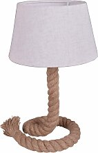 näve Tischleuchte Rope, E27, Lampenfuß Seil 1