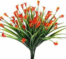 Nahuaa Kuenstliche Pflanze, 4 Stück Künstlichen