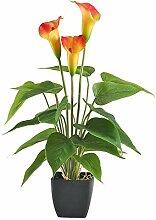 NAHUAA Künstliche Pflanze Calla Lily Künstliche