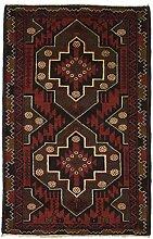 Nain Trading Belutsch 126x81 Orientteppich Teppich