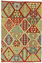 Nain Trading Kelim Afghan 151x102 Orientteppich