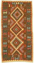 Nain Trading Kelim Afghan 188x96 Orientteppich