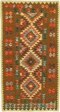 Nain Trading Kelim Afghan 190x96 Orientteppich