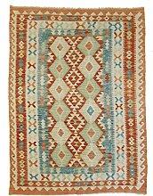 Nain Trading Kelim Afghan 199x147 Orientteppich