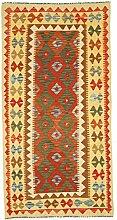 Nain Trading Kelim Afghan 203x103 Orientteppich