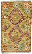 Nain Trading Kelim Afghan 90x55 Orientteppich
