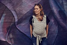 Najell WRAP Kombination aus Babybauchtrage und