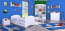 naka24 6 - teiliges Set Jugendzimmer Kindermöbel
