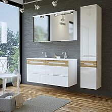 Badmobel Set Doppelwaschbecken Gunstig Online Kaufen