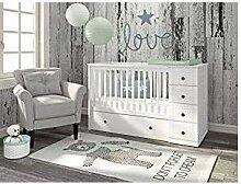 naka24 Bellamy Babyzimmer Kinderbett Babybett