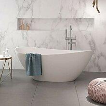 Naka24 freistehende Badewanne aus Mineralguss