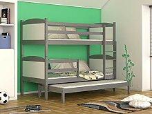 Etagenbett Drei Schlafplätzen : Naka24 etagenbetten günstig online kaufen lionshome