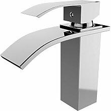 NAKEY Badarmatur - Waschtischarmatur Wasserfall