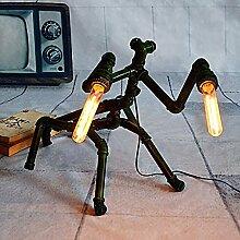nakw88 Tischlampe Europ?ische Vintage-Lampe